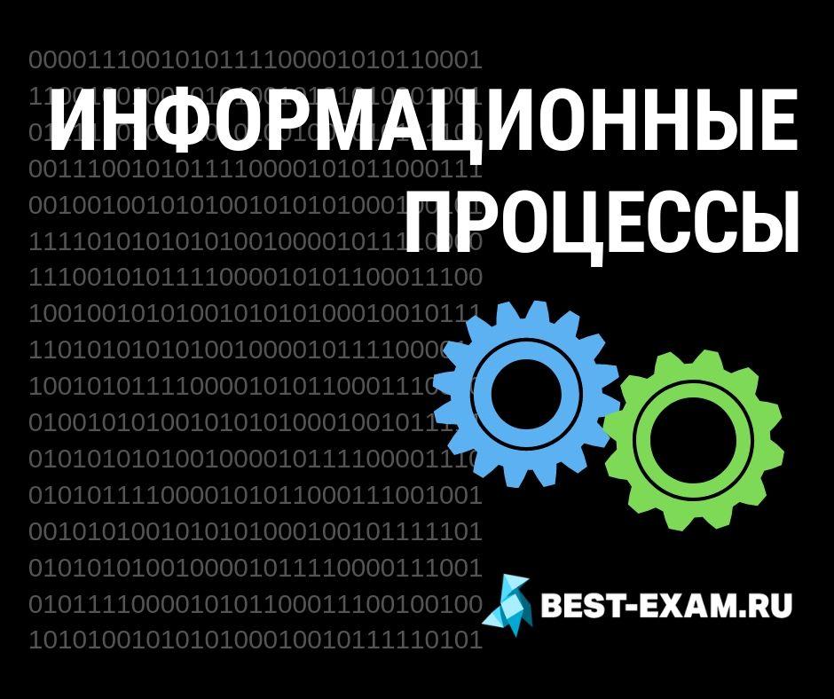 Информационные процессы обложка best-exam bestexam