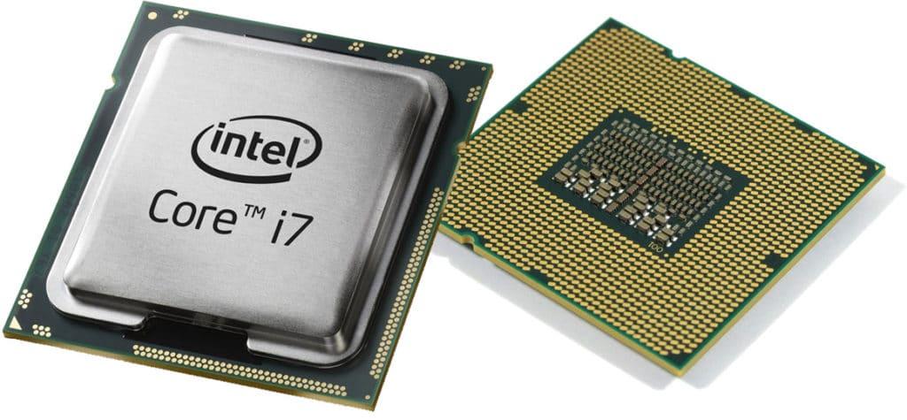 центральный процессор intel-corei7 от компании intel