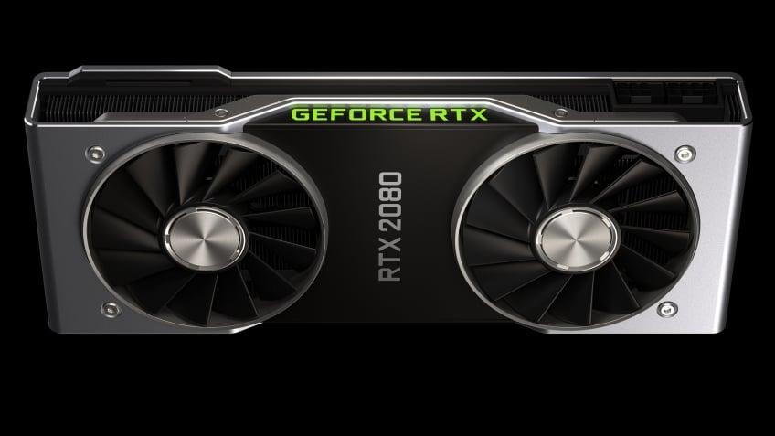 Видеокарта Rtx 2080 от компании производителя Nvidia