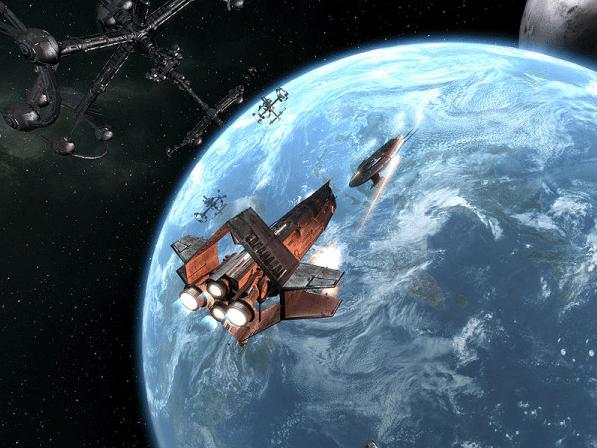 как сделать скриншот космическая станция планета