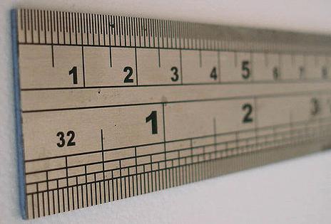 Единицы измерения информации линейка