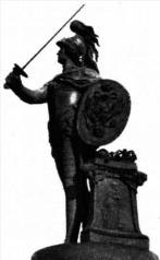 Этот памятник на Марсовом поле в Санкт-Петербурге (скульптор М. И. Козловский) воздвигнут в честь великого полководца